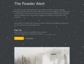 powder.intrawest.com screenshot