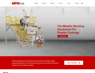 powdermachines.com screenshot