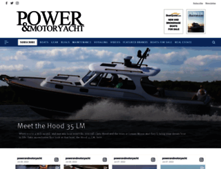 powerandmotoryacht.com screenshot