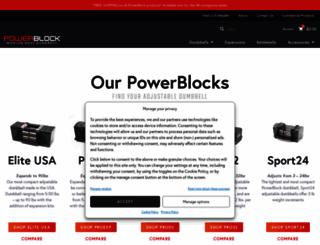 powerblock.com screenshot