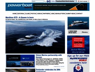 powerboat-world.com screenshot