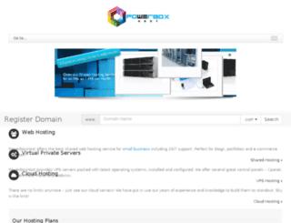 powerboxhost.com screenshot