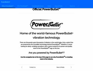 powerbullet.com screenshot