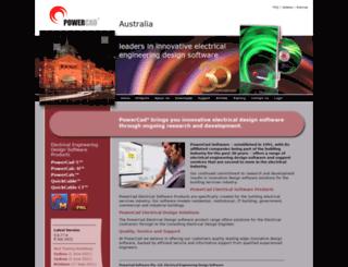powercad.com.au screenshot