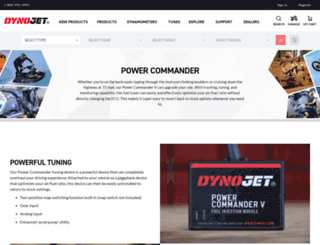 powercommander.com screenshot