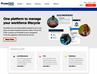 powerdms.com screenshot