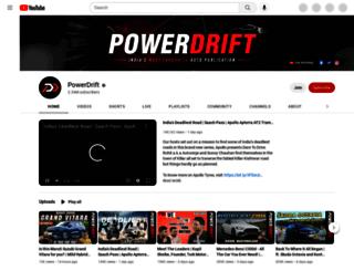 powerdrift.com screenshot