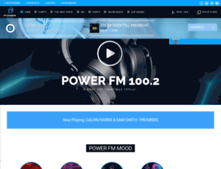 powerfm.gr screenshot