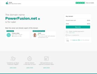 powerfusion.net screenshot