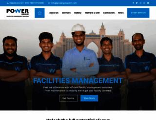 powergroupintl.com screenshot