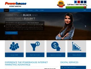 powerhouseinternetmarketing.com screenshot