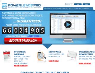 powerleadspro.com screenshot