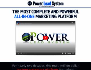 powerleadsystem.com screenshot