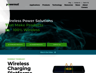 powermat.com screenshot