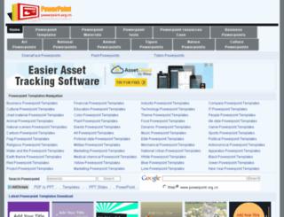 powerpoint.org.cn screenshot