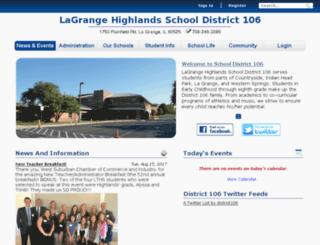 powerschool.district106.net screenshot