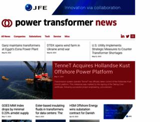 powertransformernews.com screenshot