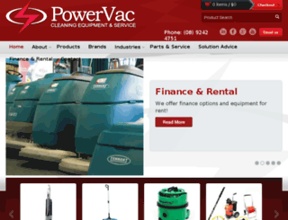 powervac.biz screenshot