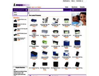 powerwholesale.net screenshot