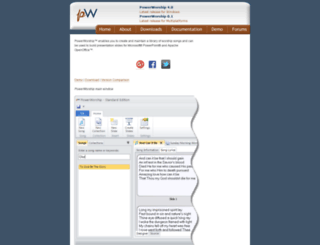 powerworship.com screenshot