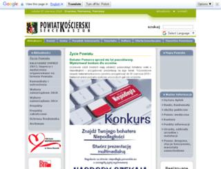 powiatkoscierski.pl screenshot