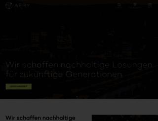 poyry.de screenshot