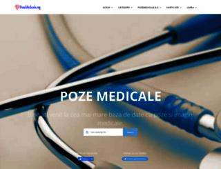 pozemedicale.org screenshot