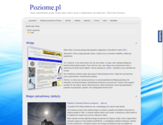 poziome.pl screenshot