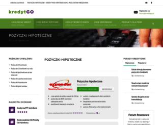pozyczkihipoteczne.kredytgo.pl screenshot