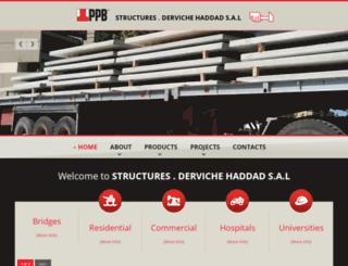 ppb-liban.com screenshot