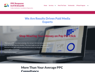 ppc-response.co.uk screenshot