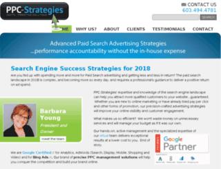 ppc-strategies.com screenshot