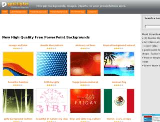 pptclipart.com screenshot
