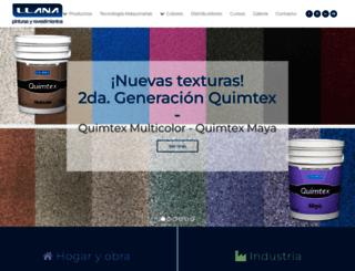 pqllana.com.ar screenshot
