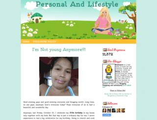 pr3ttyrh0z3.blogspot.com screenshot