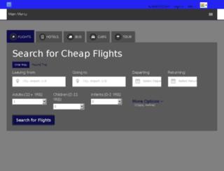 prabhascarrental.com screenshot