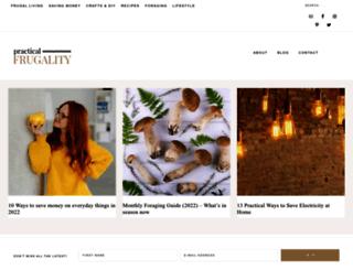 practicalfrugality.com screenshot