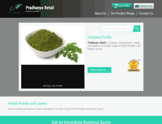 pradhanyaretail.com screenshot