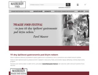 praguefoodfestival.cz screenshot