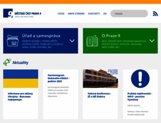 praha9.cz screenshot
