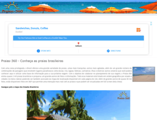 praias-360.com.br screenshot