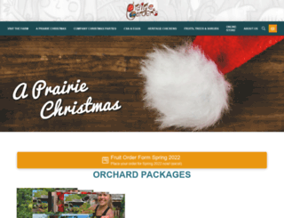 prairiegardens.org screenshot
