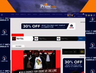 praise1009fm.com screenshot