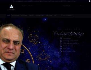 prakashastrologer.com screenshot