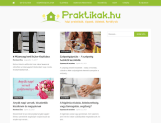 praktikak.hu screenshot