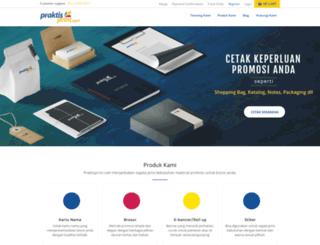 praktisprint.com screenshot