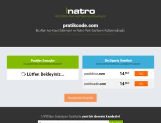 pratikcode.com screenshot