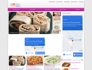 pratikevyemektarifleri.com screenshot