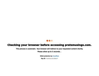 pratsmusings.com screenshot