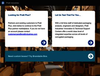 prattplus.com screenshot